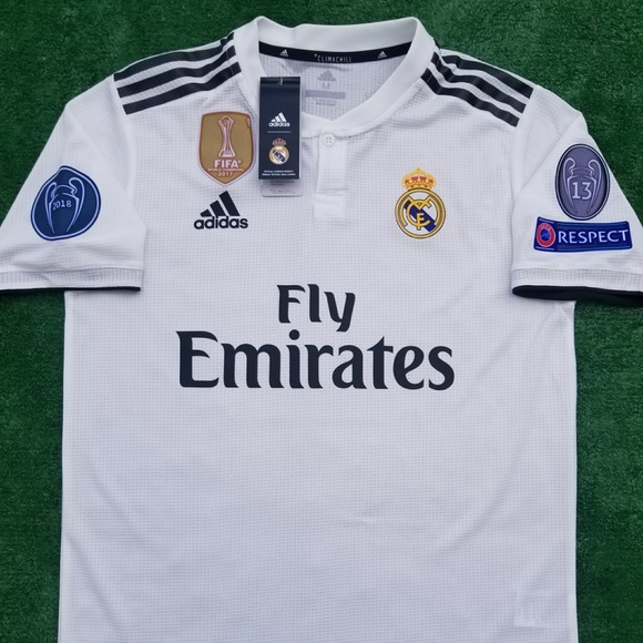 aa0309eb2 18 19 Real Madrid soccer jersey Asensio